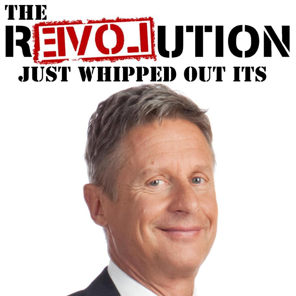 R3VOLution whipped out its Johnson!