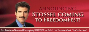 Stossel coming to Freedom Fest