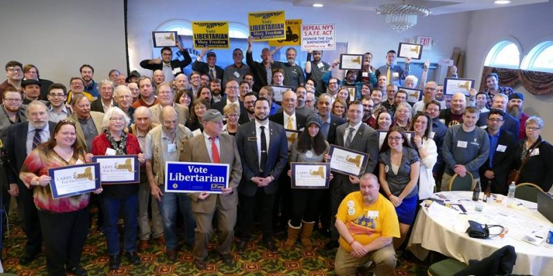New York Libertarian Party April 2018 Convention
