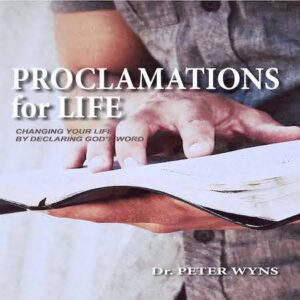 Proclamations for Life Book Product Image