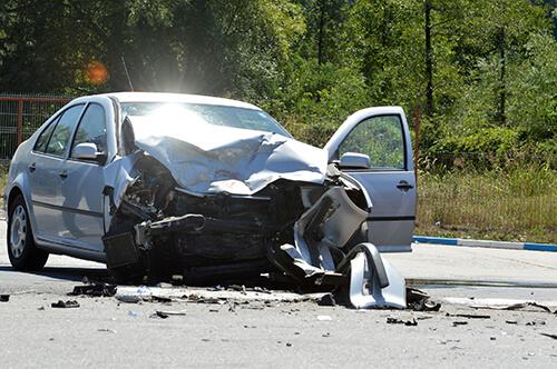 Crash factors series: Color-coding car wrecks