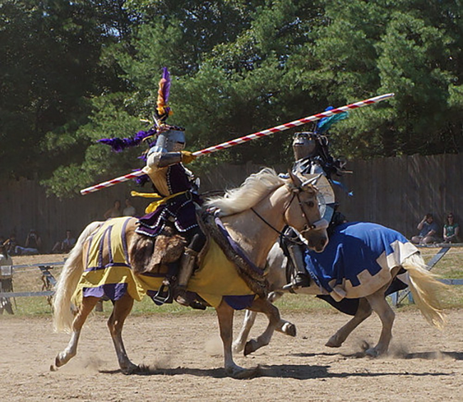 Jousting at the Faire