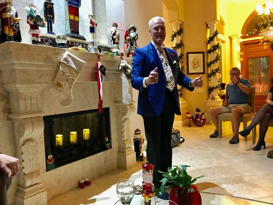 Magician Gary Roberts 2018