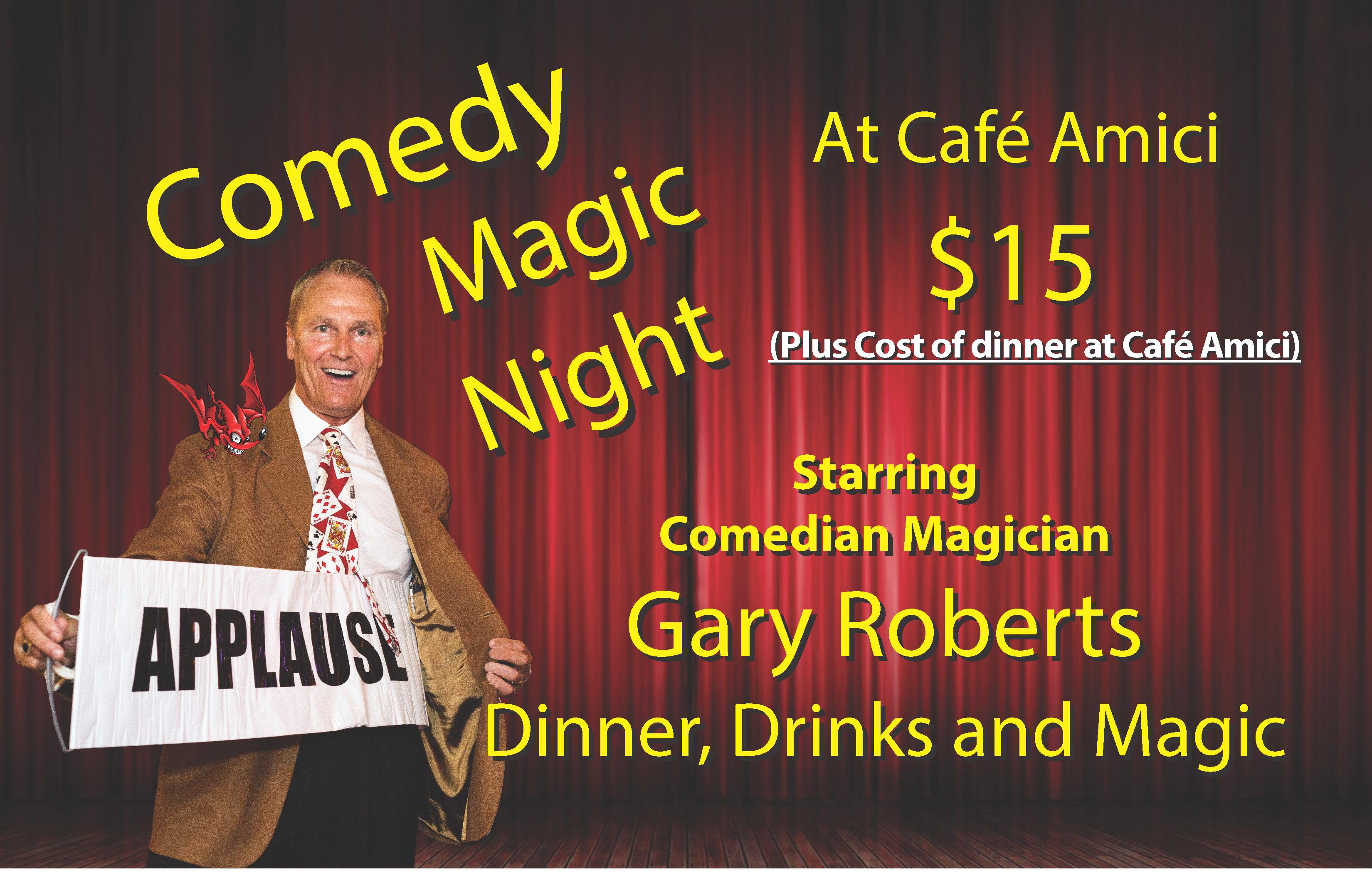 Comedy Magic Night Spring