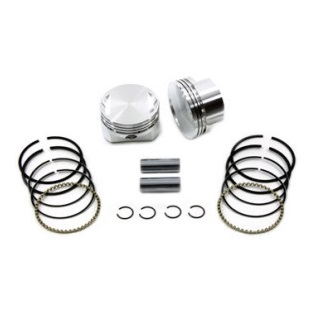 harley davidson motorcycle Sportster Wiseco flat top pistons, piston rings, pins and lock rings