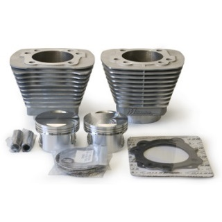 Revolution performance Nikasil cylinders with high compression pistons and gaskets for Harley Davidson Evolution Evo 1340