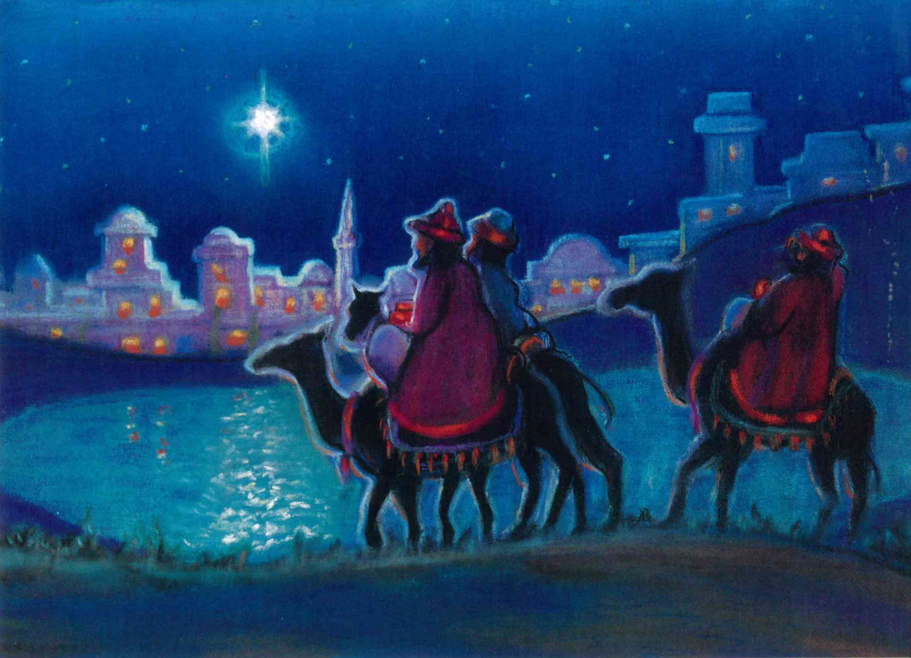 Star of Wonder — Inside text: May the joy and peace of Christmas be with you today and always