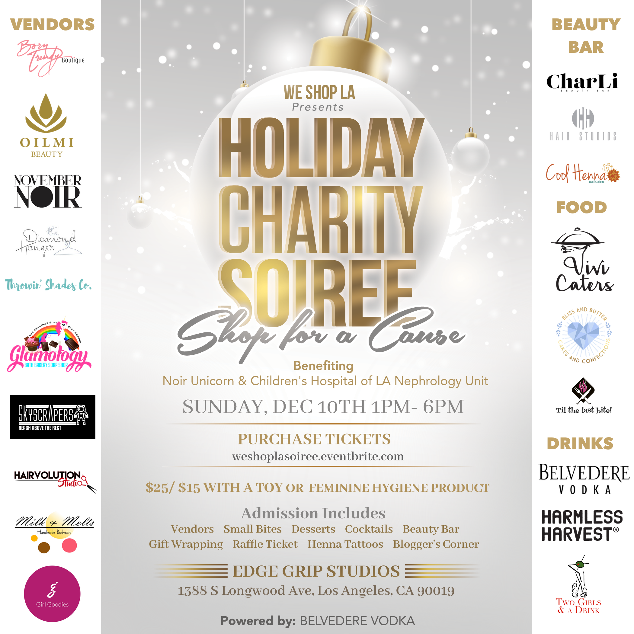 Holiday shopping for a Cause