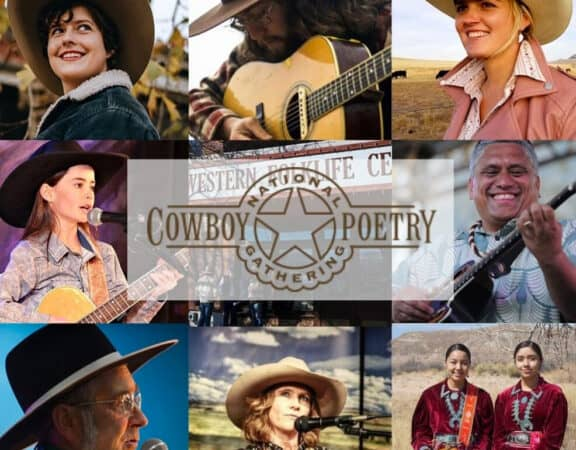 Cowboy Poetry Rodear Event