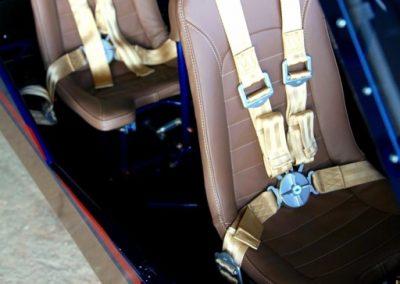 Photo of Savage Norden tandem seating.