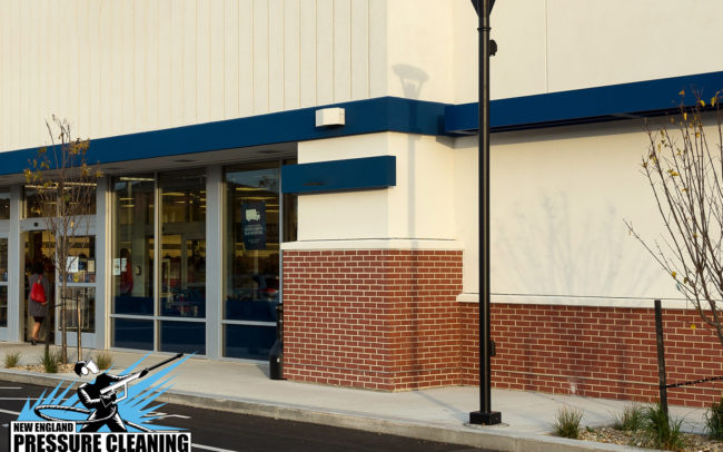 commercial pressure cleaning power washing