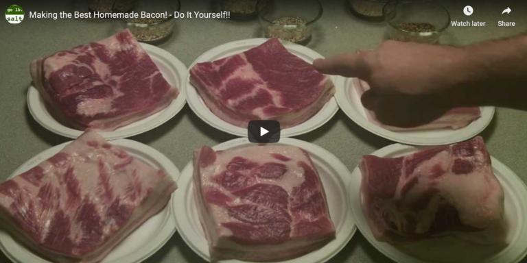 DIY Bacon with Go Lb. Salt