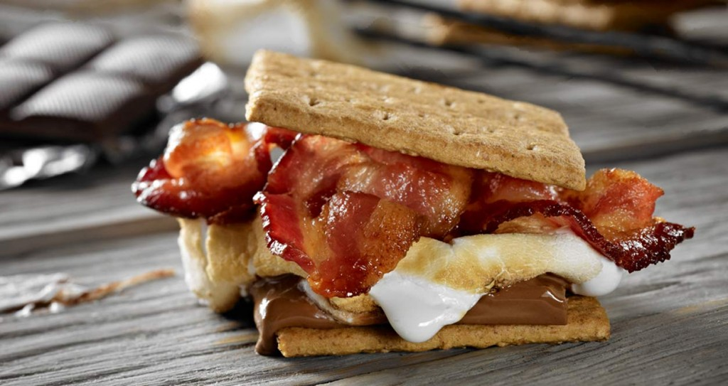 National S'mores Day is Better with Bacon