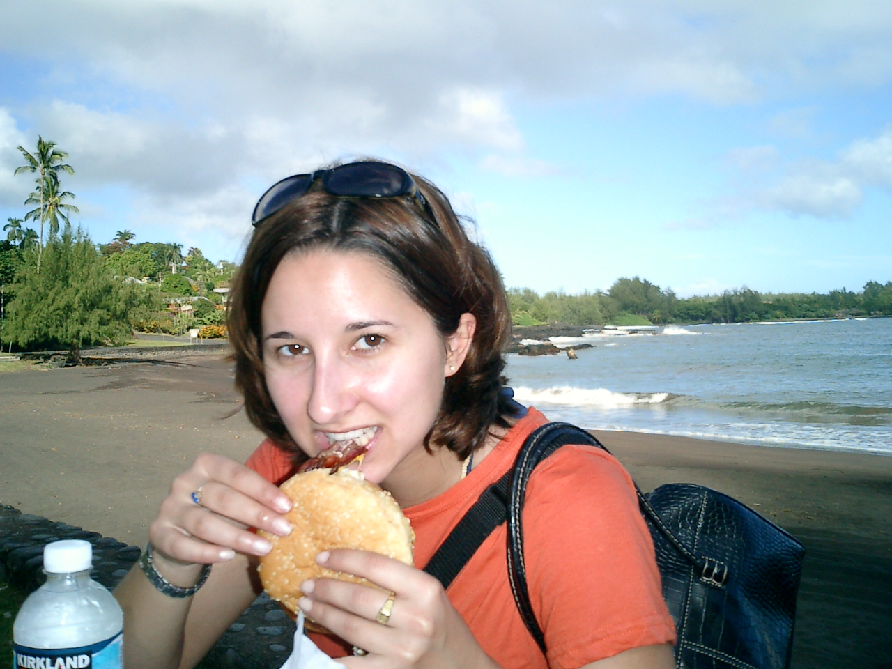The Road to Hana ends with a tasty breakfast sandwich