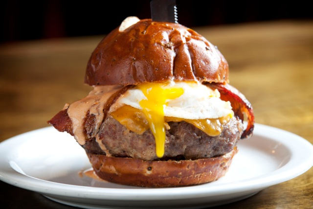 Bacon 'merica Burger at Slater's 50/50