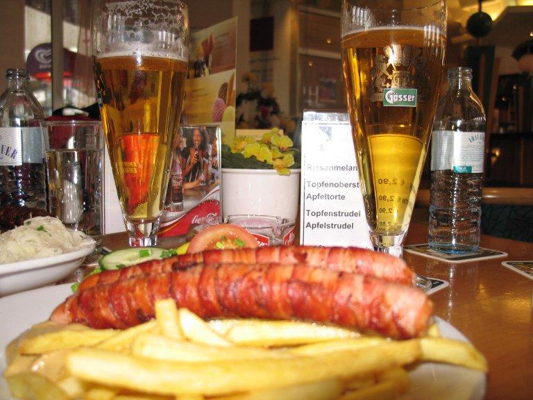 Berner Würstel im Wien