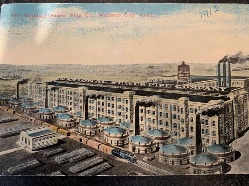 National Sewer Pipe postcard