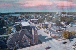 Areial image of Webster City