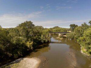 Illinois Central Railroad bridge