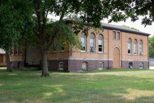 Lawn Hill school
