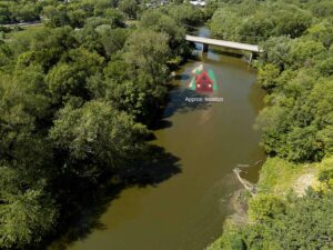 Aerial view of Boone River