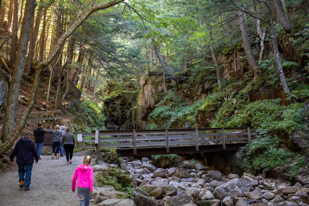 The Flume Gorge, Franconia State Park, NH