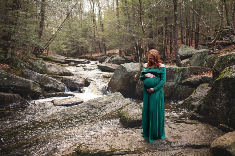 Enders Falls maternity session