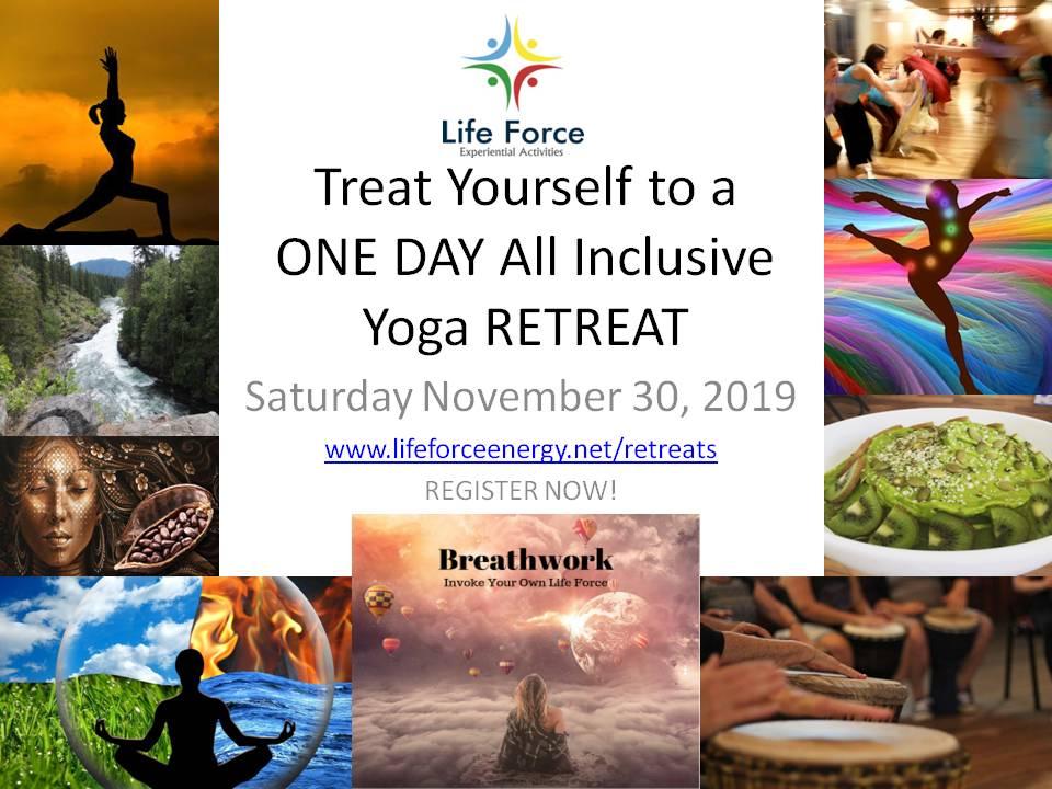 One Day ALL INCLUSIVE Retreat