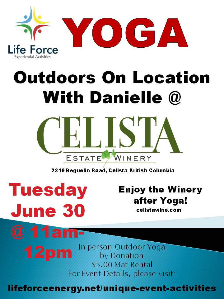 Yoga Outdoors ON Location