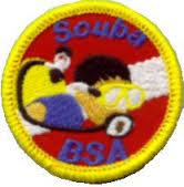 BSA Scuba Patch