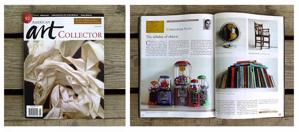 American Art Collector June 2013. It's nice when your efforts get recognised.