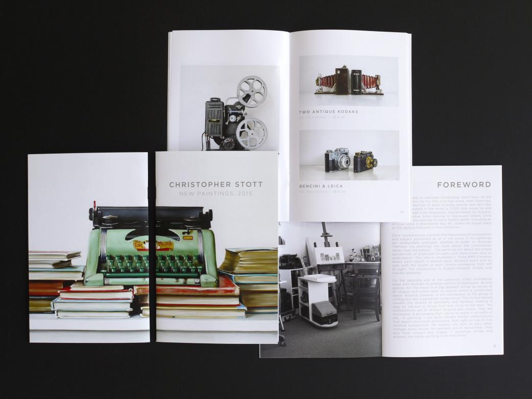 Christopher Stott Elliott Fouts Gallery 2015 Catalogue