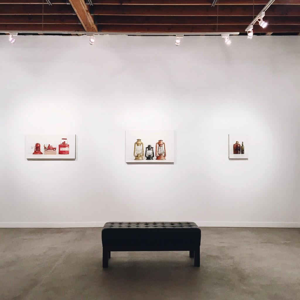 Three Lanterns at Elliott Fouts Gallery / Photo: Michelle Satterlee