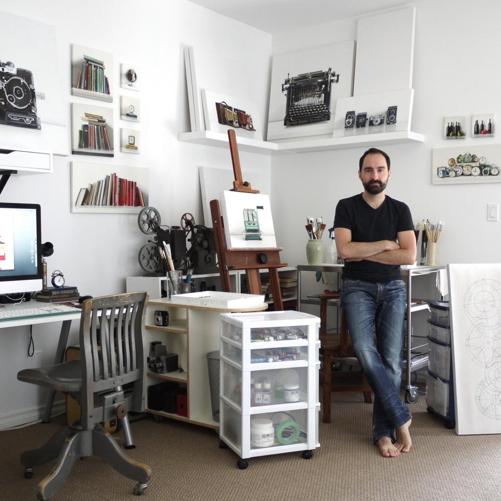 Christopher Stott Artist Studio