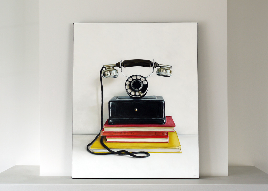 Western Electric Co. Rotary Phone / 30 x 24 / Christopher Stott