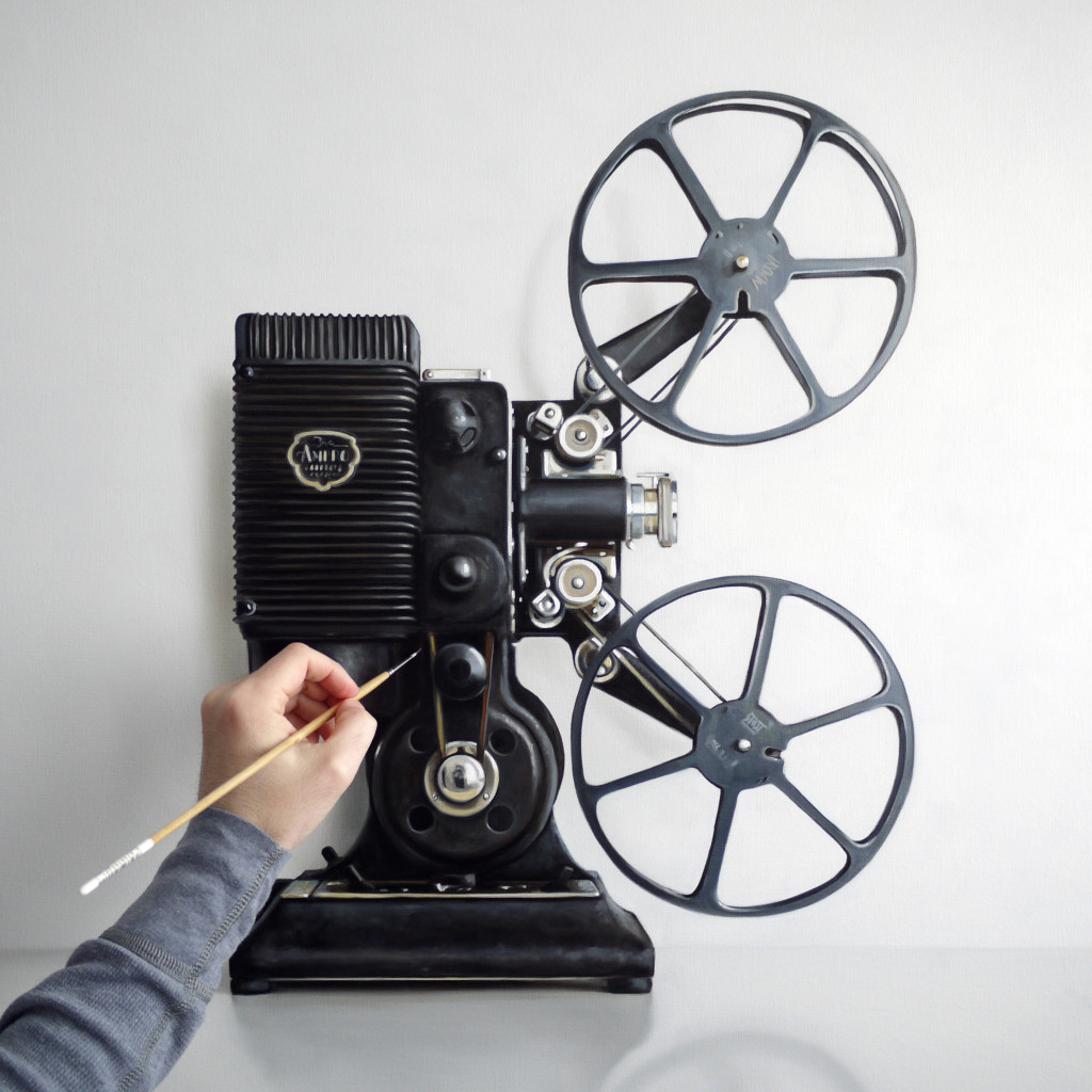 Work in Progress / Vintage Film Projector