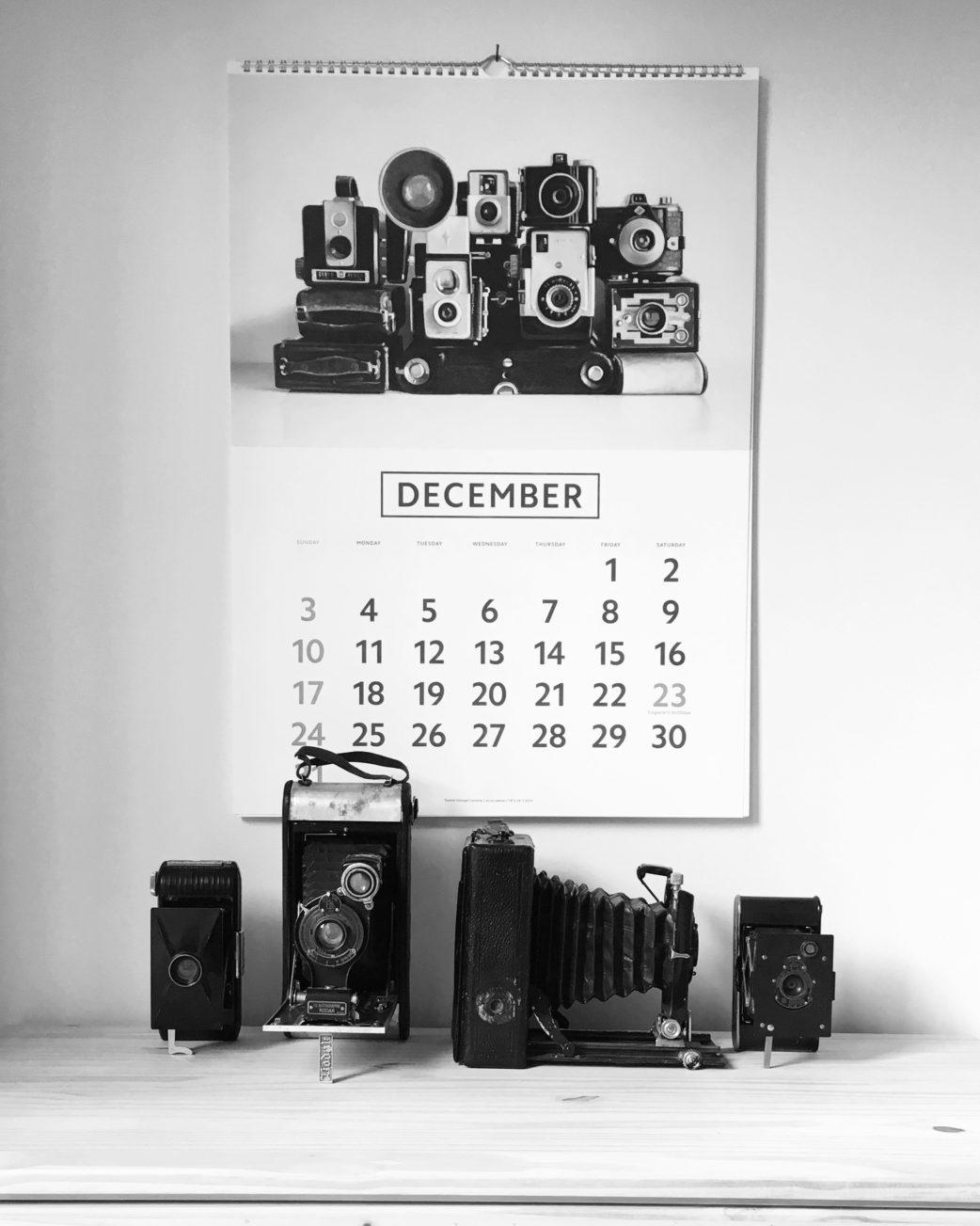 Christopher Stott ITOYA Japan 2017 Calendar
