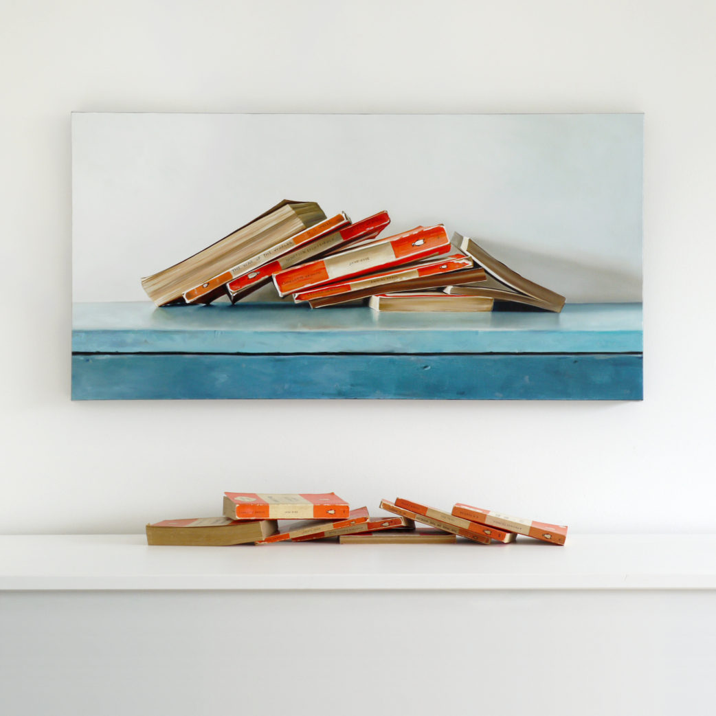 Eight Penguin Classics Painting by Christopher Stott