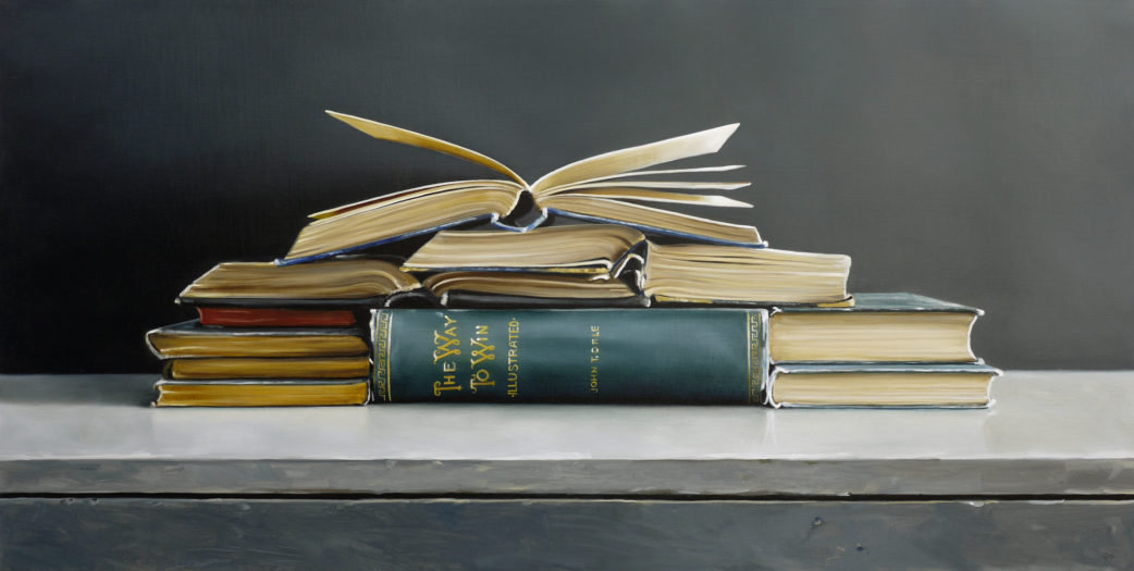 The Way To Win Book I Painting by Christopher Stott