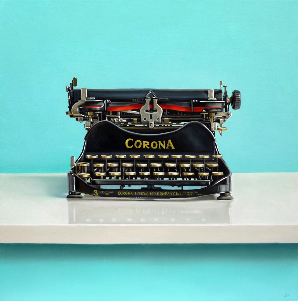 Corona Typewriter by Christopher Stott