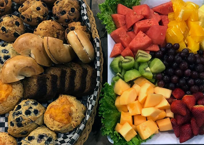 Light breakfast package - TwinBridges Restaurant and Catering