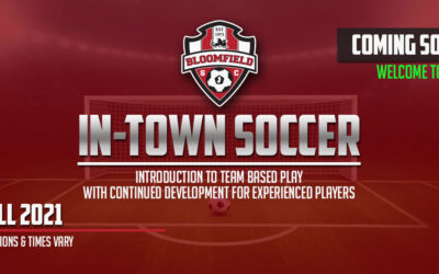 In-town and little cleats registration now open!