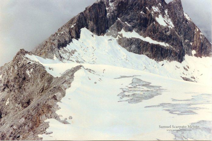 el último glaciar de Venezuela