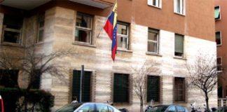Embajada de venezuela en italia