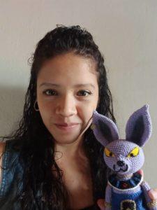 Ayerim Hernández, creadora de Yayagurumis en Caracas.