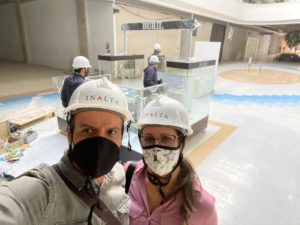 Roger y Sandra abrirán su tercera tienda muy pronto.