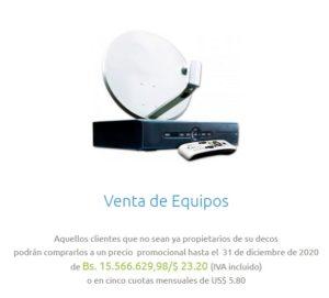 Venta de Decodificadores y antenas - SimpleTV.