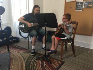 Hire Brad Rau for Guitar lessons, Chester Springs PA
