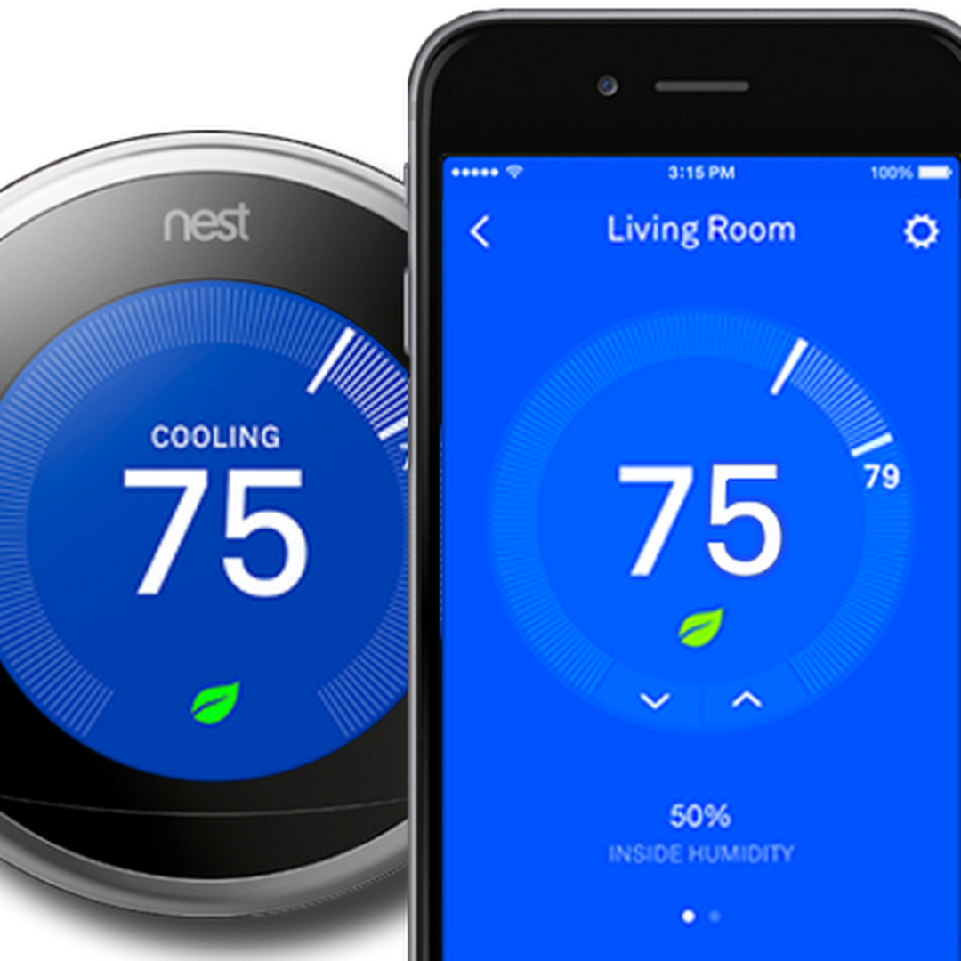 nest with phone