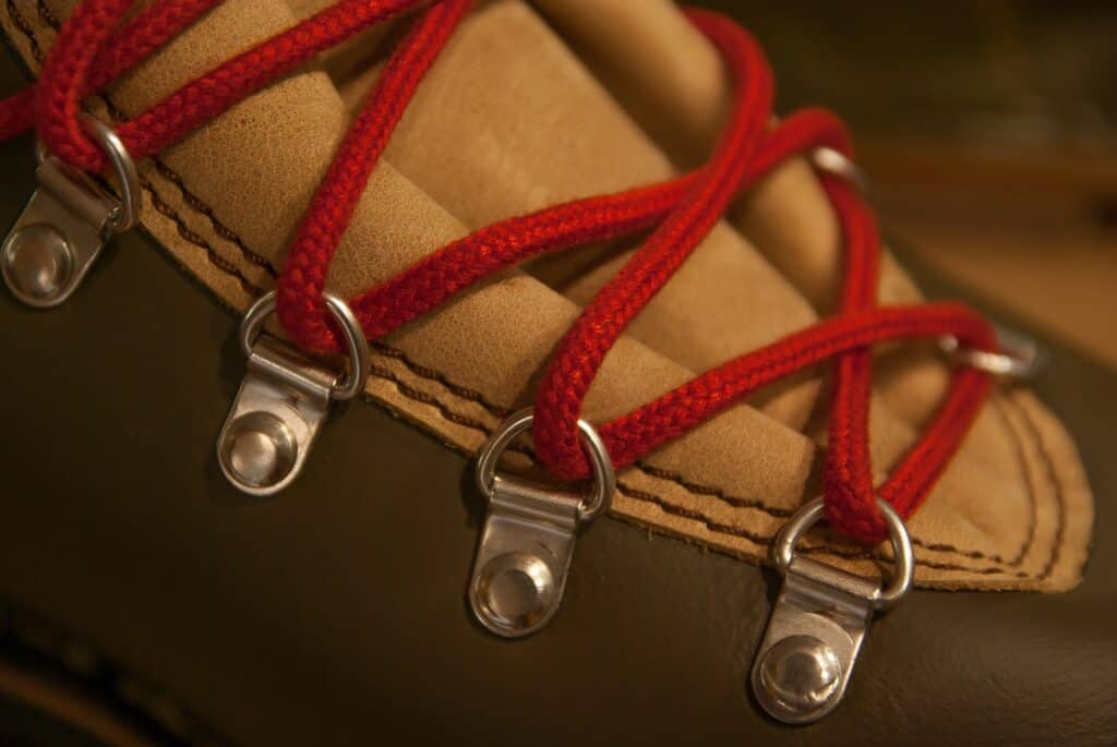 close up pictures of shoes laces